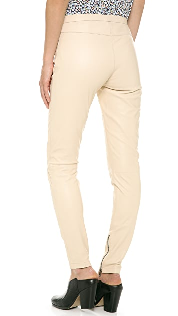 Just Female Spang Leather Pants