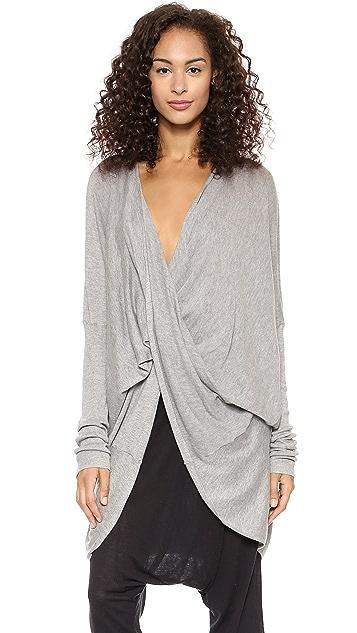 Just Female Twist Knit Cardigan