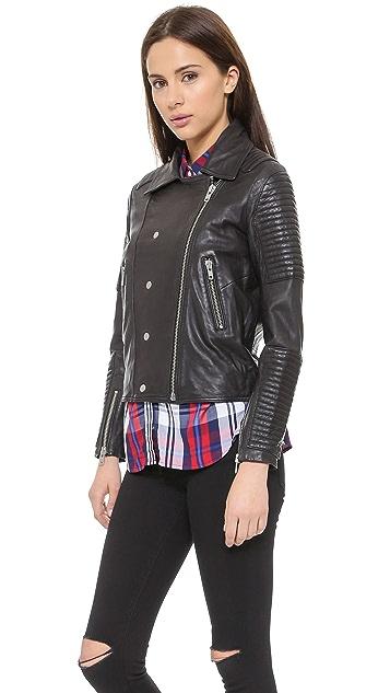 Just Female Hon Leather Jacket
