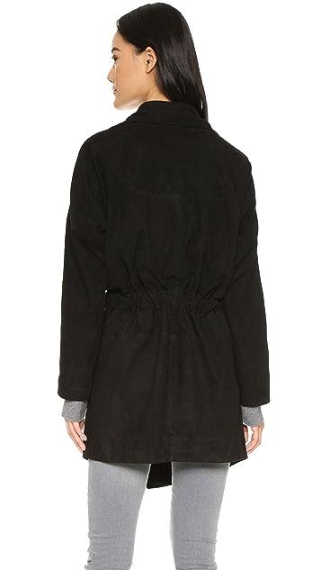 Just Female Stef Suede Jacket