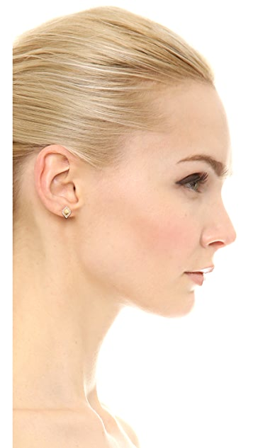 Jamie Wolf Aladdin Teardrop Stud Earrings