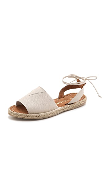 KAANAS Isis Tie Back Sandals
