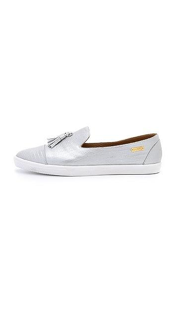 KAANAS Ghana Tassel Slip On Sneakers