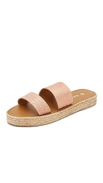 KAANAS Tobago Flatform Sandals