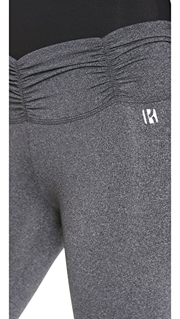 KORAL ACTIVEWEAR Active Shirred Waist Leggings