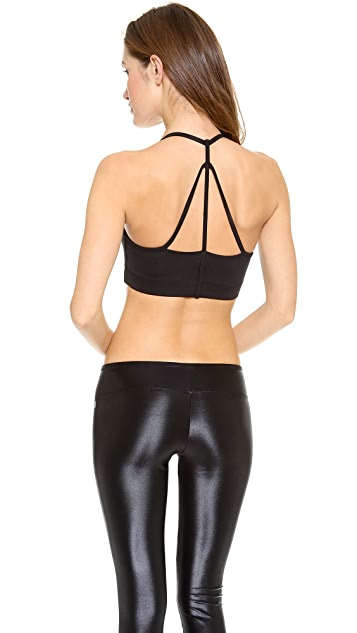 KORAL ACTIVEWEAR Sports Bra with Strap Detail