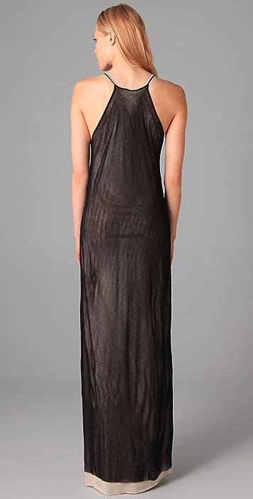 Kaelen Grandma Hannigan Long Mesh Dress