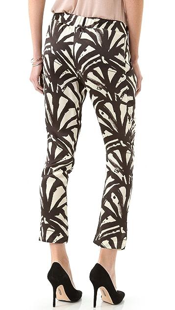 Kaelen Silk Ankle Pants
