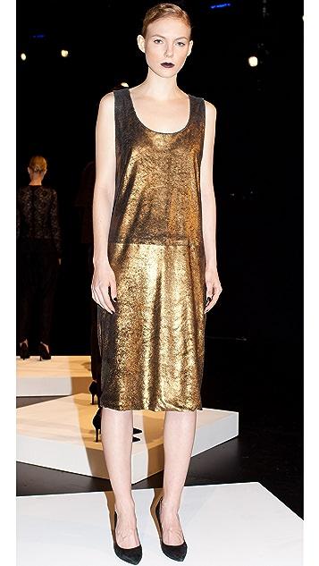 Kaelen Cowl Back Dress