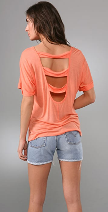 KAIN Label 3 Strap Back Tee