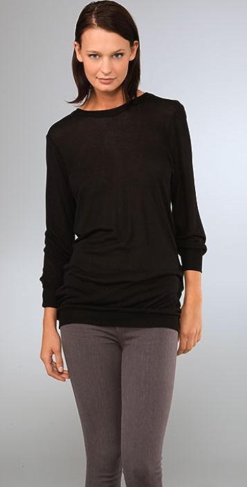 KAIN Label Mesh Back Sweater Tunic