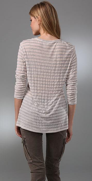 KAIN Label Peri Striped Long Sleeve Tee