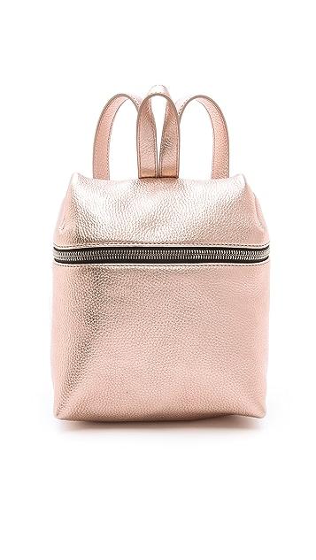 KARA Metallic Small Backpack