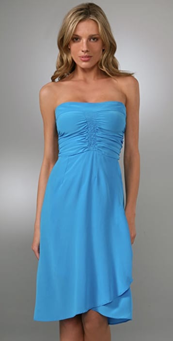 Karen Zambos Vintage Couture Lilah Strapless Dress