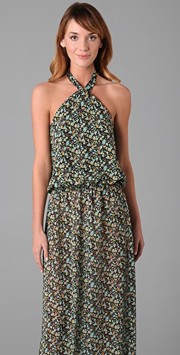 Karen Zambos Vintage Couture Gemma Long Dress
