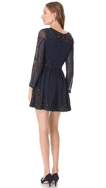 Karen Zambos Vintage Couture Vivian Beaded Dress