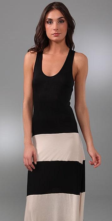 Karina Grimaldi Biscot Long Tank Dress