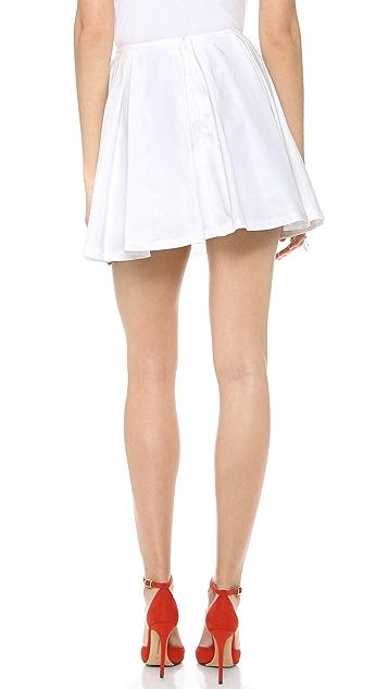 Karla Spetic Box Pleat Miniskirt