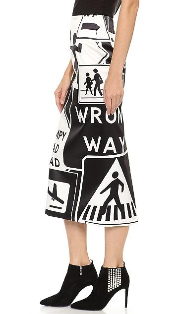 Karla Spetic Signs Skirt