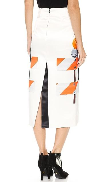 Karla Spetic Symbols Skirt