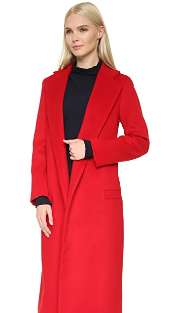 Karla Spetic Smooth Overcoat