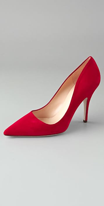 Kate Spade New York Licorice Suede Pumps