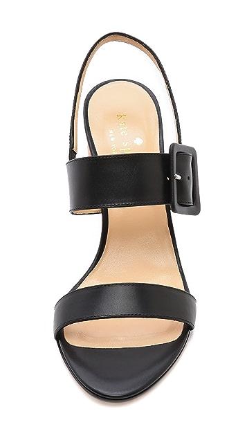 Kate Spade New York Metallic Heel Sandals