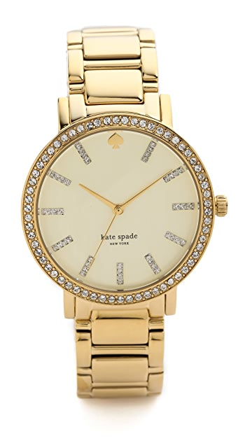 Kate Spade New York Gramercy Grand Pave Bracelet Watch