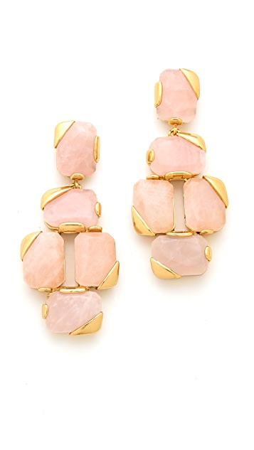Kate Spade New York Stepping Stones Statement Earrings