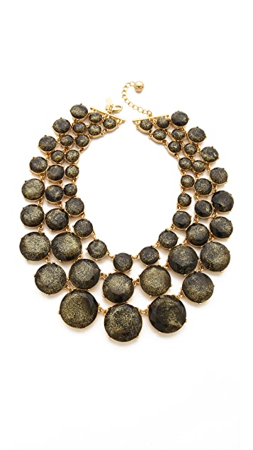 Kate Spade New York Steal the Spotlight Triple Strand Necklace
