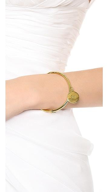 Kate Spade New York I Do Charm Bangle Bracelet
