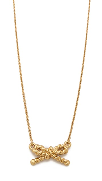 Kate Spade New York Skinny Mini Rope Pendant Necklace