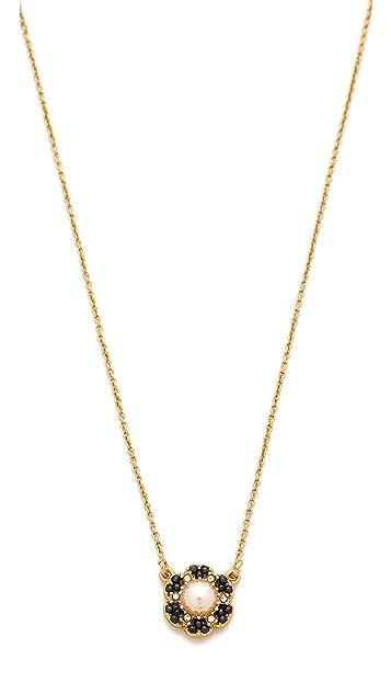 06337f17f7df5e Kate Spade New York Park Floral Mini Pendant Necklace | SHOPBOP