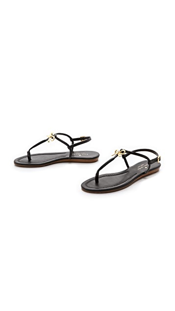 Kate Spade New York Tracie Bow Thong Sandals
