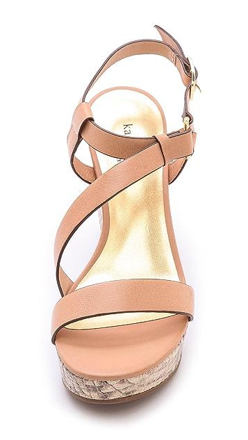 Kate Spade New York Viex Cork Wedge Sandals