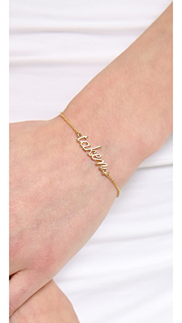 Kate Spade New York Say Yes Taken Bracelet