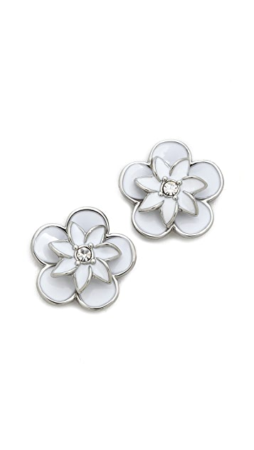 Kate Spade New York Graceful Floral Large Stud Earrings