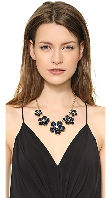 Kate Spade New York Graceful Floral Graduated Necklace