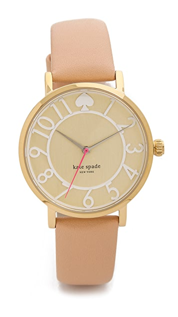 Kate Spade New York Metro Two Tone Watch