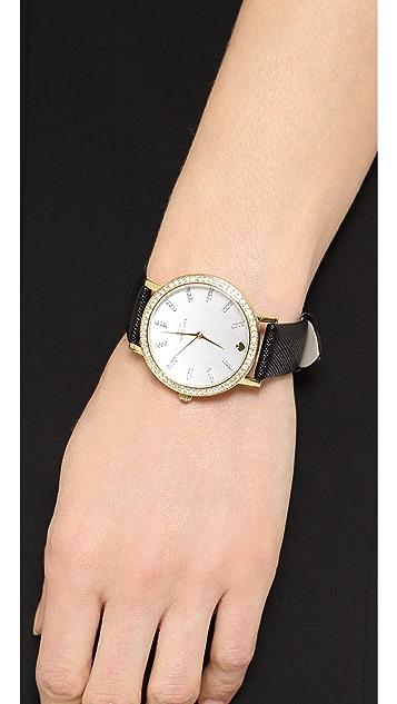 Kate Spade New York Metro Grand Crystal Marker Watch
