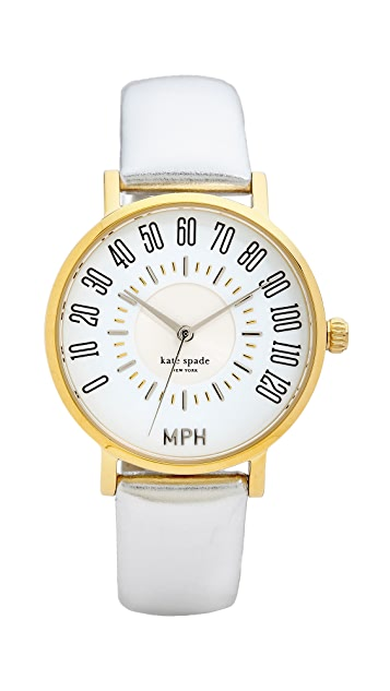 Kate Spade New York Metro Odometer Watch