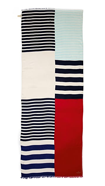 Kate Spade New York Monaco Stripe Scarf