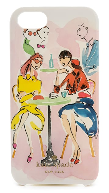 Kate Spade New York Cafe Scene iPhone 5 / 5S Phone Case