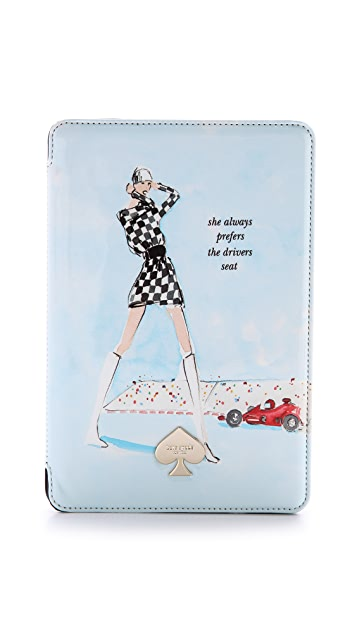 Kate Spade New York Racer Girl iPad mini Case