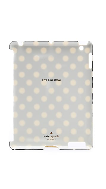 Kate Spade New York Le Pavillion Snap On iPad Case