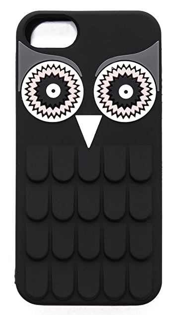 Kate Spade New York Owl Silicone iPhone 5 / 5S Case