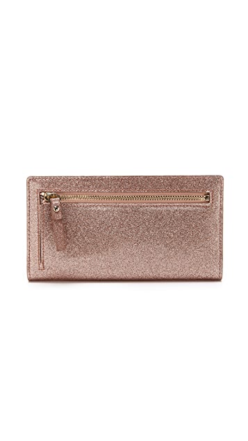 Kate Spade New York Glitter Bug Stacy Wallet