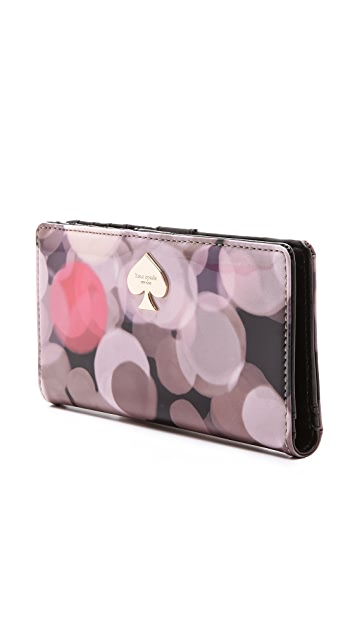 Kate Spade New York All That Glitters Stacy Wallet