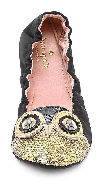 Kate Spade New York Cuckoo Owl Slippers