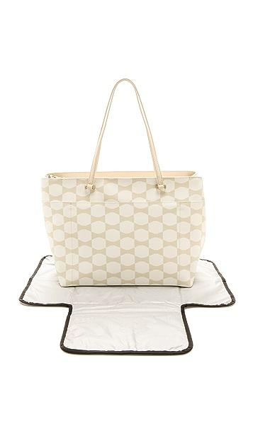 Kate Spade New York Bow Tile Francis Baby Bag